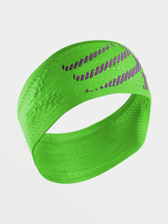 COMPRESSPORT Headband Green