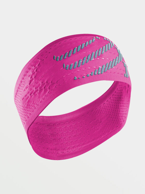 COMPRESSPORT Headband OnOff Pink