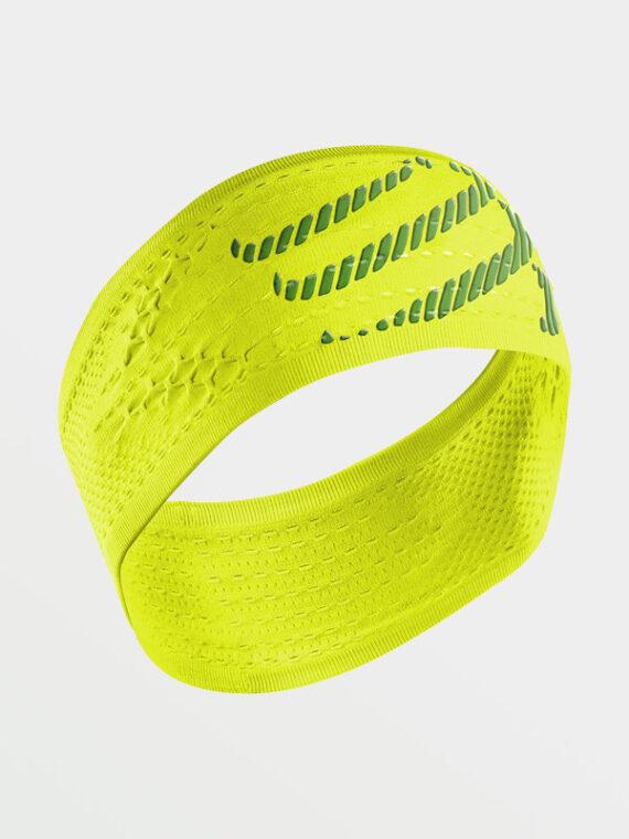 COMPRESSPORT Headband OnOff Yellow