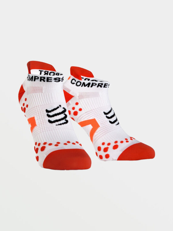 COMPRESSPORT Pro Race v21 Low White-Red
