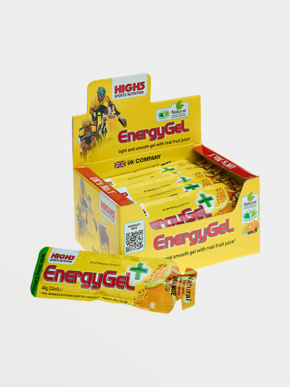 HIGH5 Energy Gel Plus Orange 20x40g