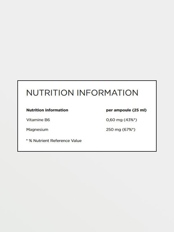 POWERBAR Magnesium Liquid - Διατροφικές Πληροφορίες